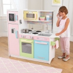 Kidkraft Uptown Pastel Kitchen: Large enough that multiple children can play at once