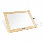 "Guidecraft LED Activity Tablet - (US): solid beech frame, easy-click power switch, 12x16"" screen, ultra slim (G16836US)"