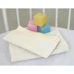 Badger Basket ECRU Fitted Bassinet Sheets for ELEGANCE Bassinets: Set of 2