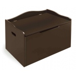 Badger Basket Bench Top Toy Chest: Espresso