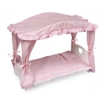 Badger Basket Canopy Doll Bed with Bedding