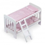 Badger Basket Doll Bunk Beds with Ladder