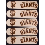 Ceiling Fan Designers MLB San Francisco Giants Ceiling Fan Blades: Baseball, 52""