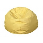 The Children's Factory Bean Bag: Yellow, 35""