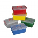 The Children's Factory Clear Jumbo Bin: #1140, 12 Per Box