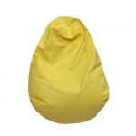 The Children's Factory Tear Drop Bean Bag: Yellow