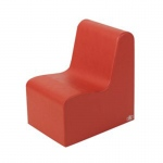 The Children's Factory Bigger Age Contour Chair: Red