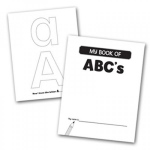"Hygloss ABC Book: 5.5"" x 8.5"", 28 Pages, 1 Book"