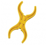 The Children's Factory RPLC Double Claw Yellow Polypropylene