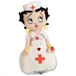 "14"" Nurse Betty Boop sings ""Button Up Your Overcoat"""