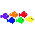 Hygloss Accents - 30/pack - Fish