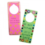 Hygloss Bright Tag Door Hangers - 12 ct., Asst'd Colors