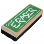 Chalk and Dry Erase Board Black Felt Eraser