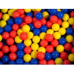 "The Children's Factory 175 Mixed Color Extra Ball: 2.75"" Diameter"