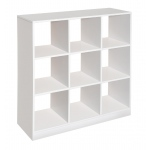 Badger Basket 3x3 Storage Unit: White