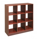 Badger Basket 3x3 Storage Unit: Cherry