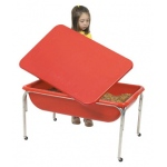 The Children's Factory Large Sensory Table and Lid Set: 24""