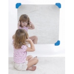 The Children's Factory Square Mirror: 24""
