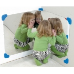 The Children's Factory Corner Mirror Pair: 24""