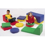 The Children's Factory Square Floor Cushion: Set of 4