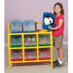 The Children's Factory 9 Bin Tilt Storage