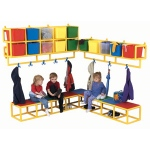 The Children's Factory 10 X-Size-Cubbie Coat Center