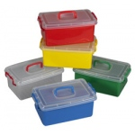 The Children's Factory Red Jumbo Bin: #1140R, 12 Per Box