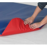 The Children's Factory Floor Mat for Play Zone: Red/Blue