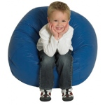 The Children's Factory Blue Bean Bag: 26""