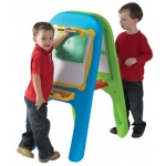 "The Children's Factory Indoor/Outdoor Molded Double Easel: 21"" x 30.5"""