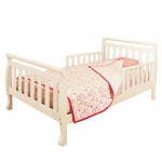 AFG Anna Toddler Bed: White