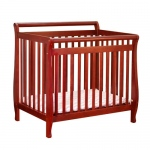 AFG Mini Amy Crib: Cherry