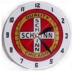 American Retro Schwinn Bubble Clock