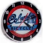 American Retro Columbia Bubble Clock